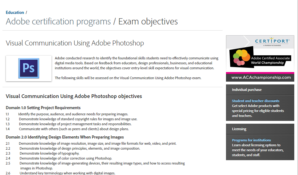 How To Apply Adobe Photoshop Certificate Graphic Designing